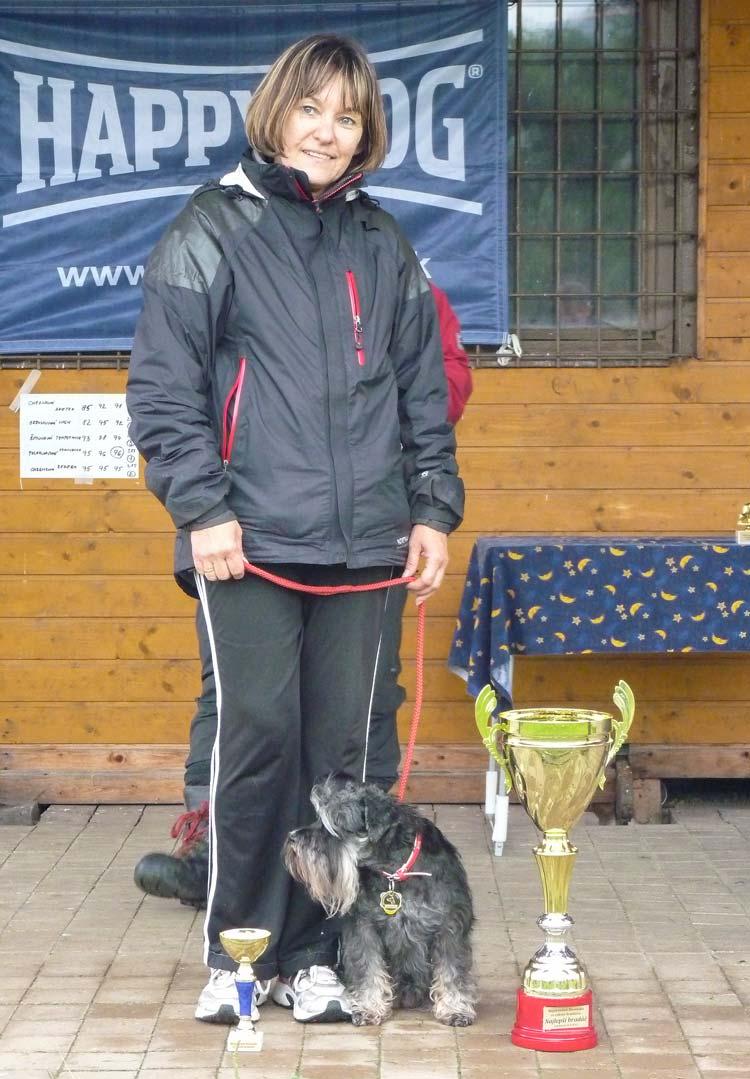 Najlepší bradáč Majstrovstiev SR - FRANCESKA FRIDA Agape – Andrea Polakovičová